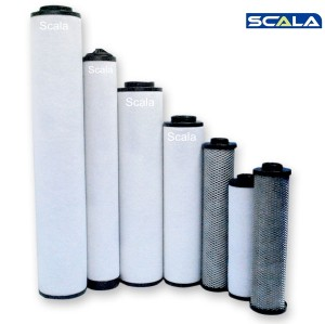 Replaceable Atlas Copco Compressed Air Filter Cartridge