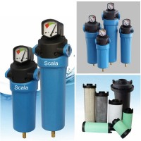 F1060M 1060CFM 0.1ppm Coalescing Compressed Air Filter for Air dryer