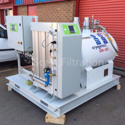 LN120 120Liters per day automatic liquid nitrogen generating equipment