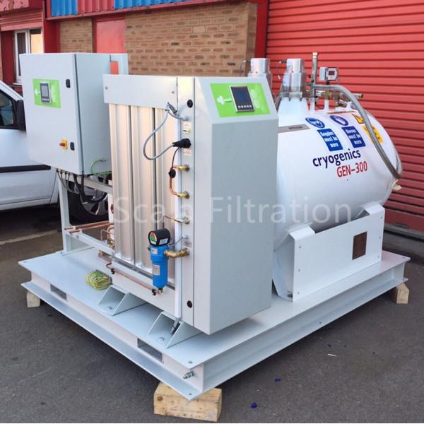 LN120 120Liters per day automatic liquid nitrogen generating equipment