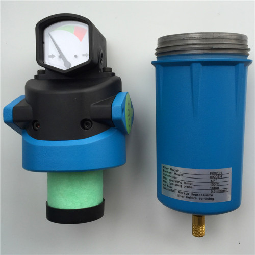 265CFM oil removal coalescing filter for compressed air system