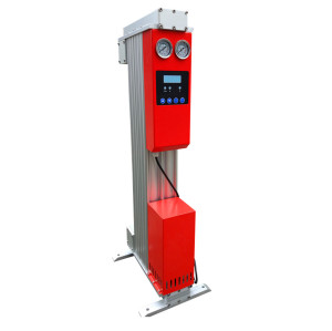 46.6 cfm heatless regenerative desiccant air dryer for pneumatic ystem