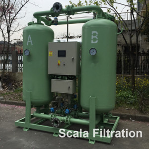 1765cfm  blower purge desiccant compressed air dryer with independent dew point control