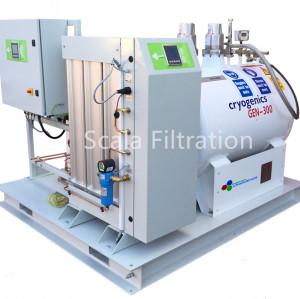 LN120-120升/天-英国Noblegen撬装式液态氮发生装置