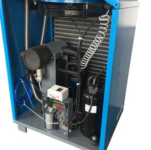 46cfm high temperature refrigerant air dryer for piston compressor