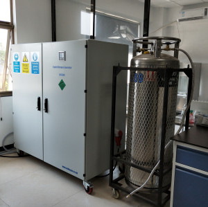 65Liters per day Intelligent liquid nitrogen generation plant for IVF and biological storage