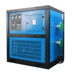 16bar aluminum plate type refrigeration compressed air dryer