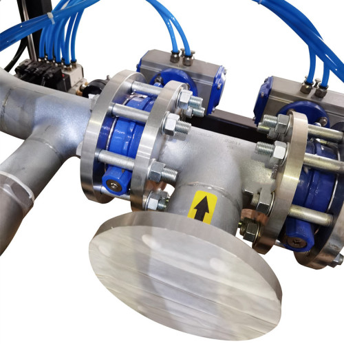 Externally heated regenerative desiccant air dryer