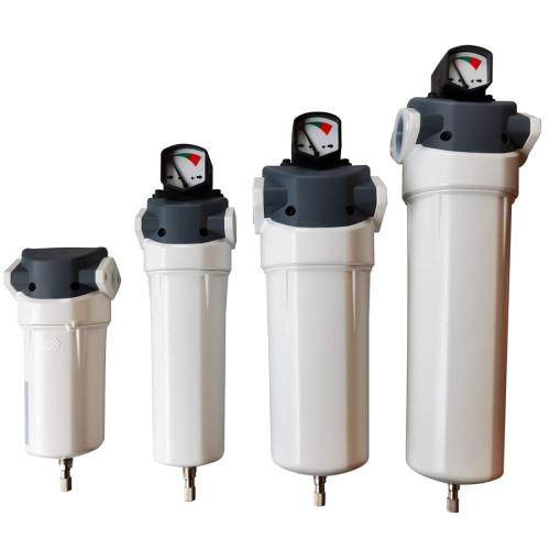 16bar thread aluminum compressed air coalescing filter