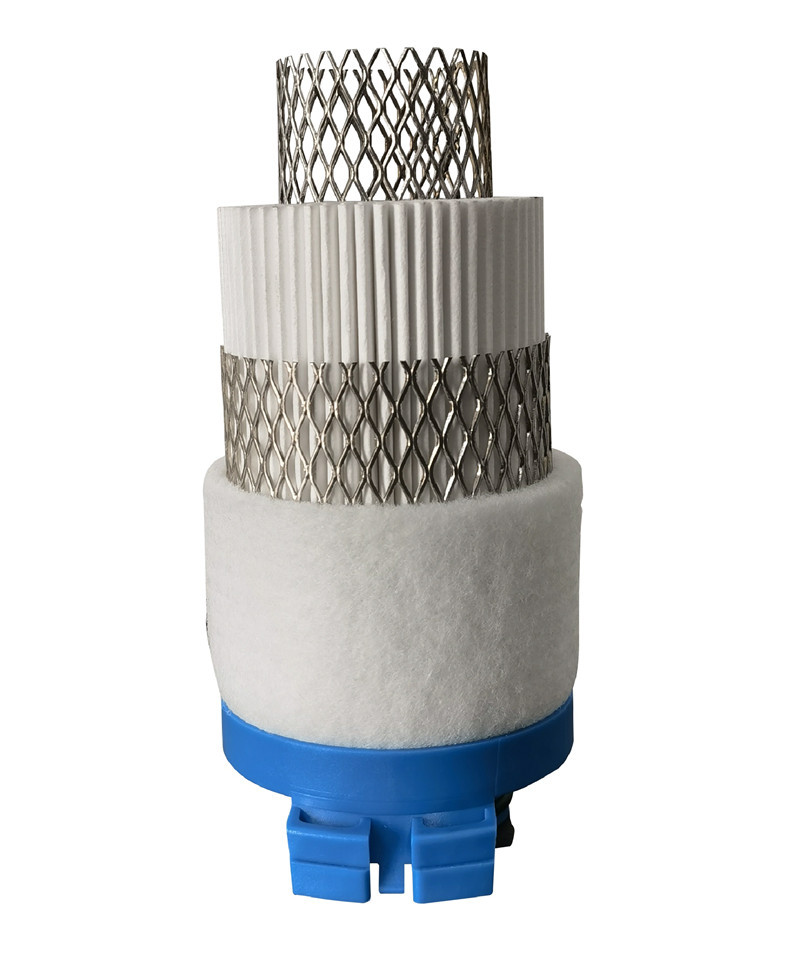 Deep-pleated Filter Element