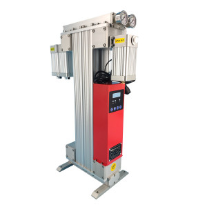 Small heatless desiccant compressed air dryer for CNC machine