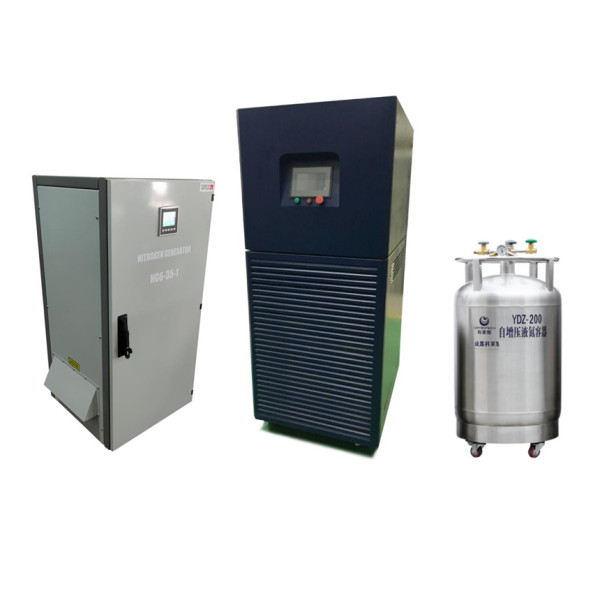 20L per day small liquid nitrogen generator for laboratory and IVF storage