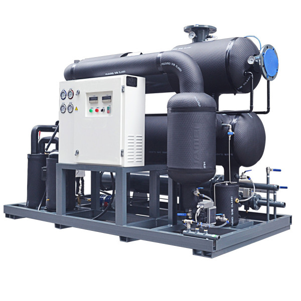 large capacity water-cooled refrigeration compressed air dryer