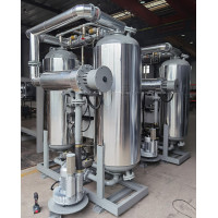 2 units of 23m3/min blower heated adsorption dryers deliveried to South East Asia