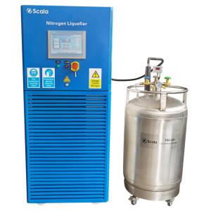 Small cryogenic nitrogen liquefier | produce liquid nitrogen from nitrogen gas