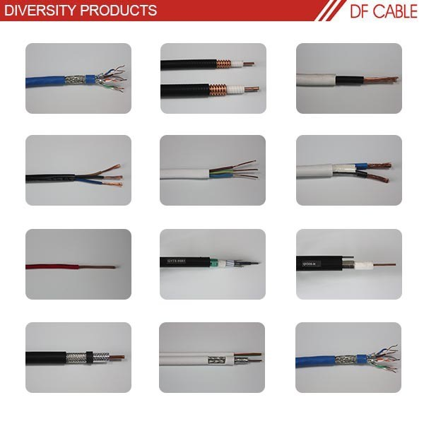 High quality standard bare copper spiral power cable