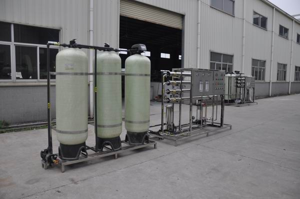 Automatic indsutrial Water treatment plant RO-1000J(3000LPH)