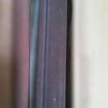 good price veneered mouldings wrapped by Wenge veneer for door
