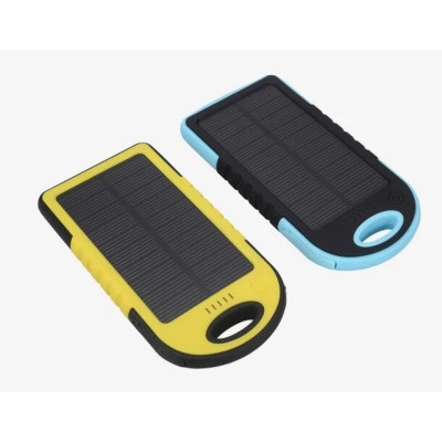 Solar power bank 5000mah ,CE,FCC,ROHS Certificated(3)