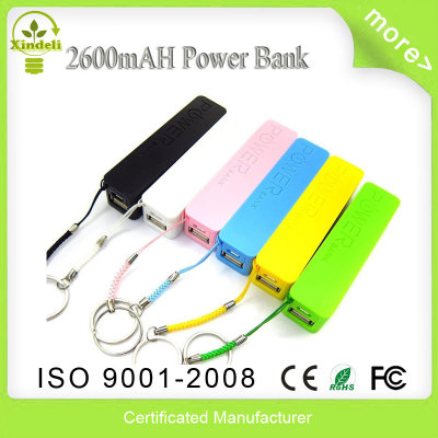 2600mah  newest perfume power bank