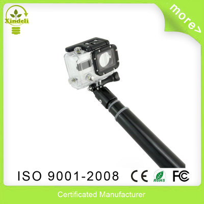 Extensible Camera monopod Selfie stick 45-100 CM for GoPro Hero 4 go pro hero 3 3+