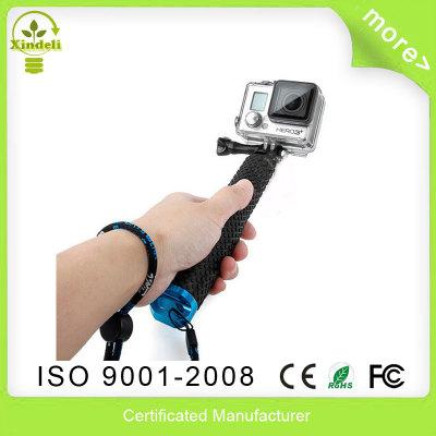 selfie Stick Extendable Pole Telescoping Handheld Monopod with Mount Adapter for GoPro Hero 1 2 3 3+ 4 SJ4000