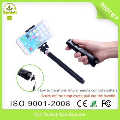 Selfie Stick Monopod 7 In 1 Remote Shutter For iphone Samsung Gopro Hero 2 3 3+ Camera Multi Function Newest