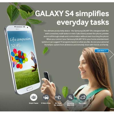 Factory unlocked Samsung Galaxy S4 mobile phones