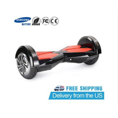SAMSUNG BATTERY 8-INCH TWO WHEEL SMART SELF BALANCE ELECTRIC SCOOTER(BLACK/WHITE/BLUE/RED)
