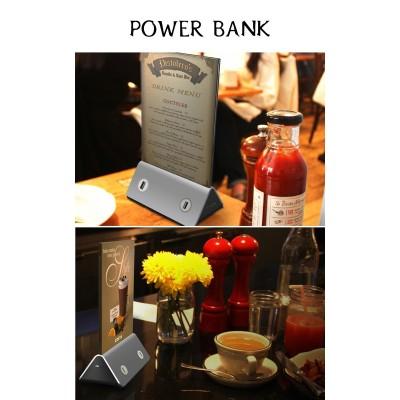 2016 Menu standby restaurant power bank