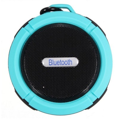 New Portable Mini Bluetooth Speaker with Colorful LED Light Super Bass Sound