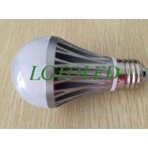 High power 220V 5W led bulb light Cool white color temperature