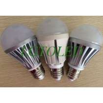 3w/5w/7w led bulb dimmable and nondimmable can be choosed