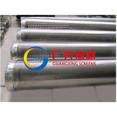 SS304,aperture0.5mm,wire wrap water well screen pipe (manufacturer)