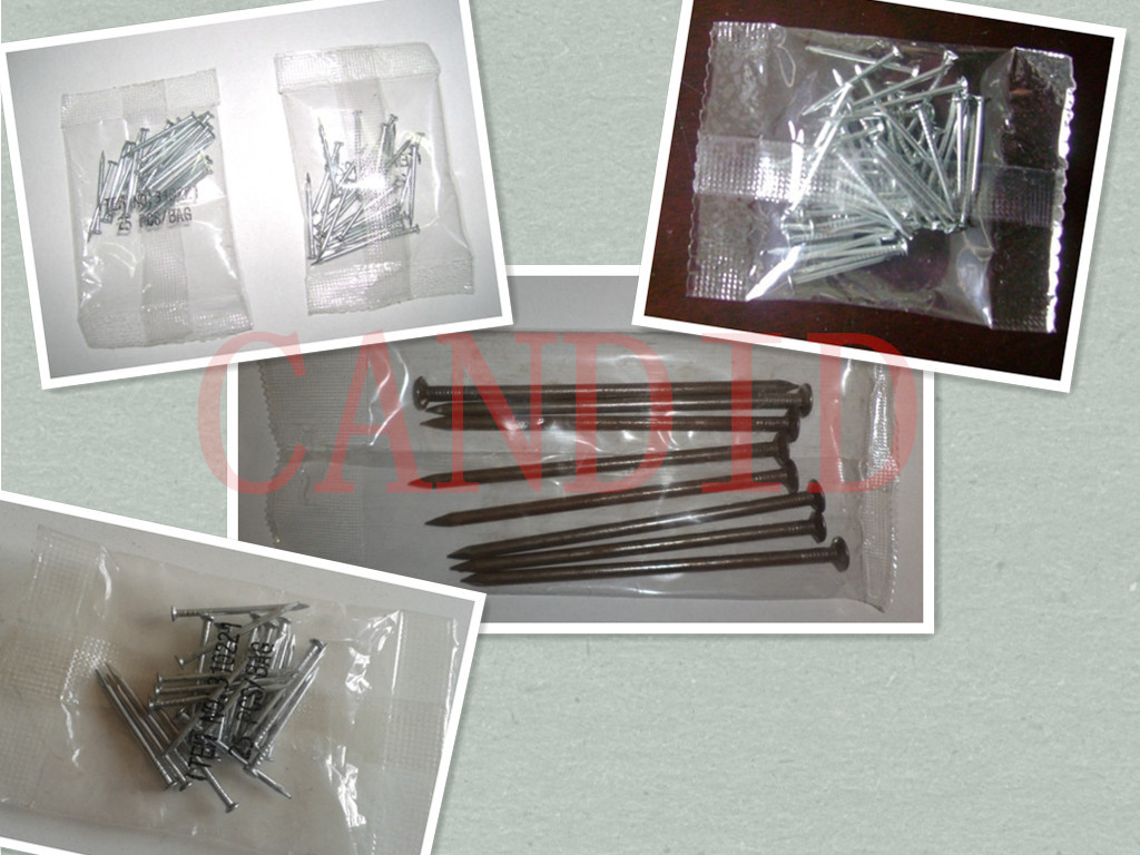 nail packing machine with high degree of accuracy
