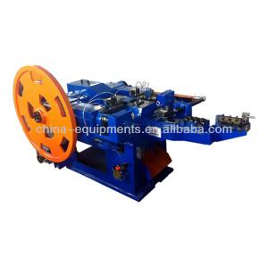 machines de fabrication de clous fil commun