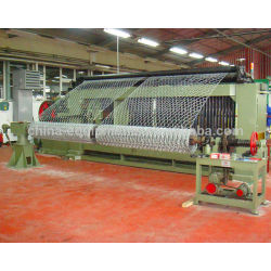 gaviones línea de producción