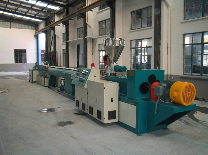 tubería de pvc línea de producción