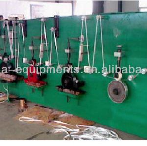 cinta de medición de la línea de producción