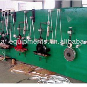 medición de la cinta que hace la máquina