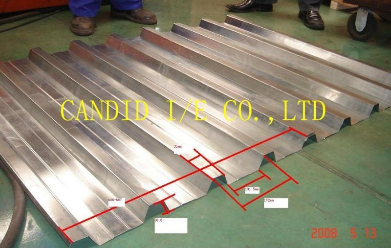 ondulé roof tile roll machine de formage