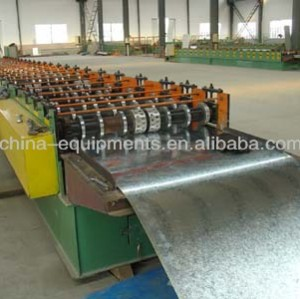 Machine à carton ondulé feuille d'aluminium
