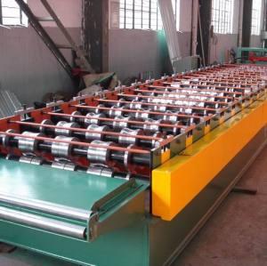 ondulé rouleau panneau en acier formant la machine