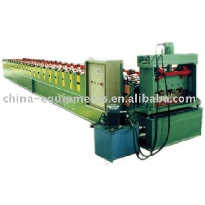 el piso del panel de acero que hace la máquina