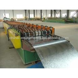chapa de hierro corrugado que forma la máquina