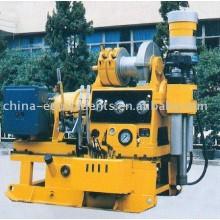 la máquina de perforación