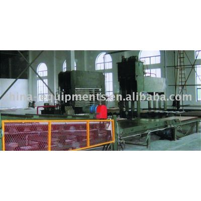 De bambú y de madera complejo junta línea de producción/de la máquina