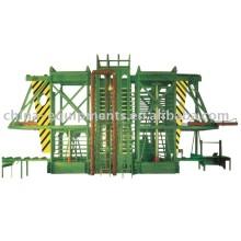 Fuego - a prueba de junta, contrachapado de bambú y el tablero de aislamiento de la máquina de la prensa