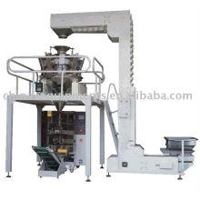 Fertilizantes pellet, bocanadas, la suelta de pesaje de funcionamiento automático y la máquina de envasado