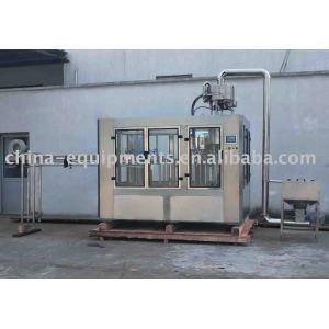 machine 3in1 remplissante et de capsulage de lavage